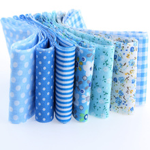100*5cm 7pcs 100% Cotton Strips New Year Christmas Decoration Tildas Roll Crafts Sewing Roll Set Hair Accessories TX-1-4