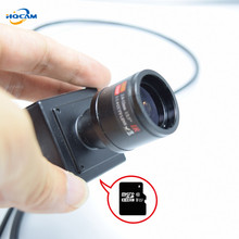 HQCAM 960P 9-22mm manual zoom lens 1.3MP Support SD & TF Card camera 960P Mini IP Camera Home Camera Indoor Security CCTV Camera