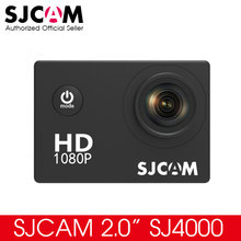 "Original SJCAM 2.0"" SJ4000 Basic Action Camera Waterproof 1080P Helmet Camera HD Sport DV Firmware V1.5 Sports Camera"