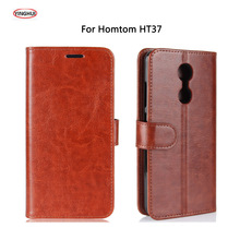 Buy YINGHUI Doogee Homtom HT37 Case Luxury Flip Leather Back Cover Phone Accessories Bags Skin Coque Homtom HT37 Pro Carcasa for $5.21 in AliExpress store