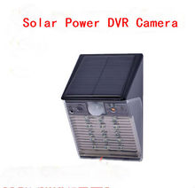 Waterproof Solar Power Outdoor Security Surveillance CCTV Camera PIR Sensor Video Recorder TF Card With Night Vision