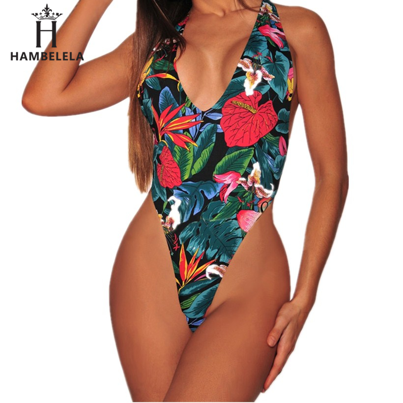HAMBELELA Sexy Bodysuit Women Floral Printed Bodycon Jumpsuit Sleeveless Backless Rompers Womens Jumpsuit Body Overalls Feminino (2)