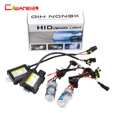 Cawanerl 55W Xenon HID KIT Ballast Bulb H1 H3 H7 H8 H9 H10 H11 9005 9006 All Colors 4300-15000K Car Headlight Fog DRL Light(China)