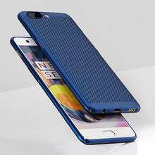 MAKAVO For Oneplus 5 Case 360 Matte Skin Fundas Hard Plastic Housing Slim Hollow Back Cover Phone Cases For One Plus 5 A5000(China)
