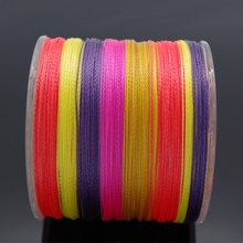 2017 Hot Sale 500M 4Strands Brand Cheap Japan Material Peche PE Multifilament Braided Fishing Line 10 20 30 40 60 80 100LB(China)