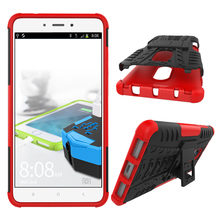 With Kickstand Heavy Duty Armor Hard PC TPU Shockproof Defender Phone Case Cover for Xiaomi Redmi Note 4 4X 3(China)
