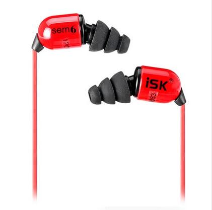 Original ISK SEM6 In Ear Earphone High Quality Professional DJ Monitoring Earbud Deep Bass Recording Studio Headset Auriculares<br>