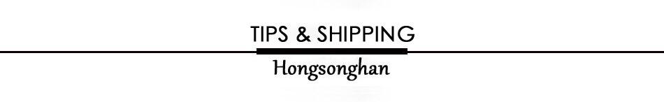 4 TIPS & SHIPPING