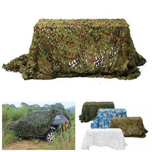 5m*2.5m Hunting Military Camouflage Net Woodland Army training Camo netting Car Covers Tent Shade Camping Sun Shelter(China)