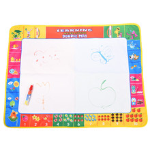 80X60CM 72X49CM 2 Size Magic Water Doodle Mat with 1 Magic Pen/Water Drawing Board/Water Mat/Aquadoodle Mat For Baby Toys(China)