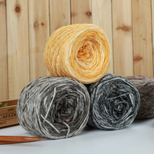Segment Dyed Merino Wool Yarn 4 pcs Soft Warm Baby Knitting Wool Yarn Fancy crochet yarn thread Skein For Knitting Scarf Sweater