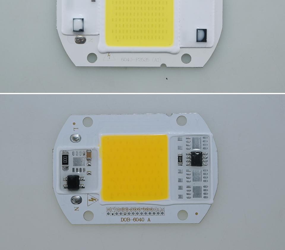led cob lamp bulb white warm white 220v 110V with smart ic driver (12)