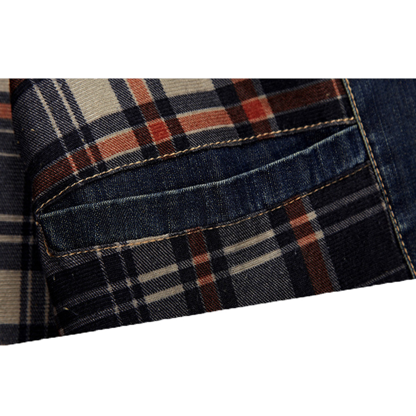 Free Shipping 2017 Hot Sale AFS Jeep Spring Denim Jacket Male Tide Men Casual Jacket  Plus Size S-4XL Z