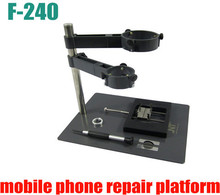 Hot air gun clamp holder F-204 Mobile Phone Laptop BGA Rework Reballing Station Hot Air Gun Clamp Jig NT F204 Fixtures