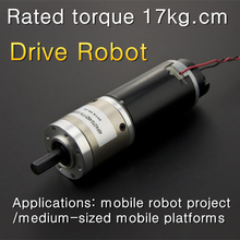 ! 12V 168P Gear motor with encoder,Drive Robot Stable and reliable, accurate operation(China)
