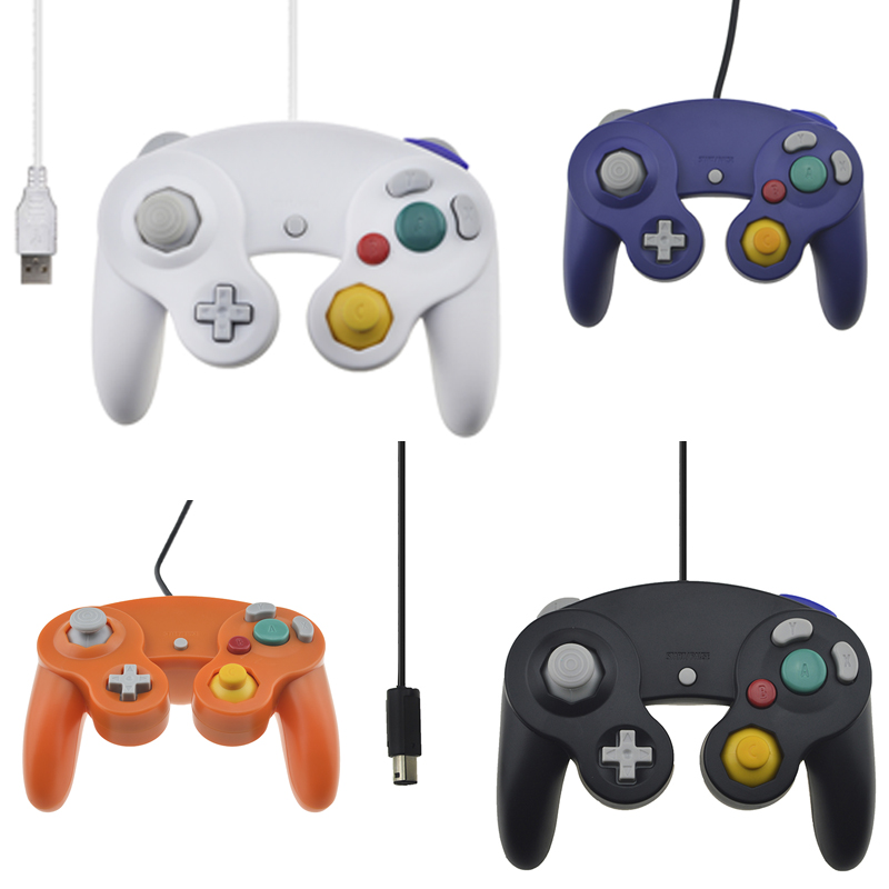 For Nintendo Gamecube Controller USB Wired Handheld Joystick For Nintend NGC GC Controle For Wii For MAC Computer PC Gamepad(China (Mainland))