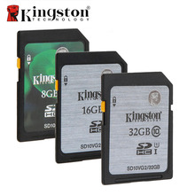 Kingston Digital SD Memory Card 8GB 16GB 32GB SD Card SDHC SDXC HC XC UHS-I HD Video Class 10 Cartao de Memoria Carte SD Tarjeta