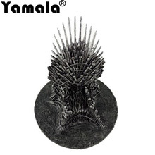 [Yamala] The Iron Throne 17cm Game Of Thrones A Song Of Ice And Fire Figures Action & Toy Figures One Piece Action Figure Gift