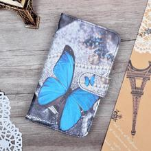 Luxury Wallet PU Leather Case Cover For Lenovo Vibe C A2020 A2020a40 DS A 2020 Case Cartoon Painting Flip Cover Phone Bag