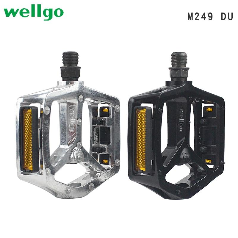 WELLGO M248 DU Aluminum MTB Road Bike Bicycle Pedals Peilin Bearing Dog/'s Mouth