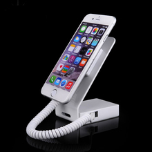 Buy Charging alarm cell phone security display stand mobile phone anti-theft holder iphone burglar arm exhibition sales for $33.21 in AliExpress store