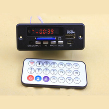 Digital led 5V MP3 decode board with 2*3W amplifier + remote control/ usb SD fm Radio