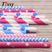 New Arrival!25PCS Multi-Style Paper Straws Christmas/Birthday/Wedding Party Decoration event Supplies Paper Drinking Straws