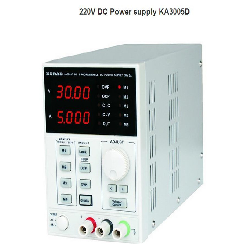 KA3005D high precision Adjustable Digital DC Power Supply 4Ps mA 30V/5A for scientific research service Laboratory<br><br>Aliexpress
