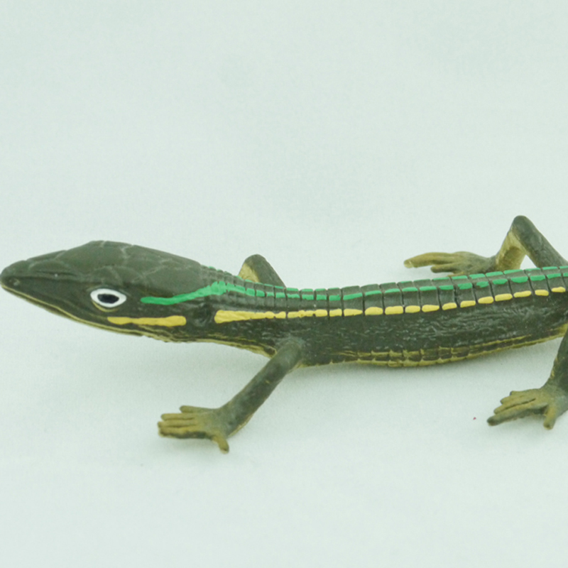 Can wholesale Bullyland Aspidoscelis Uniparens Simulated animal model toy lizard<br><br>Aliexpress