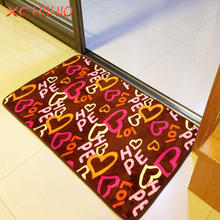 Thickened Coral Fleece Carpet Floor Mat Anti-slip Bath Mat for Bathroom/Kitchen/FloorDoor Mat 40x60/50x80/60x90cm Fast Shipping(China)