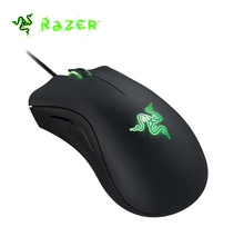 Razer Deathadder Expert 2013 Wired Gaming Mouse 4G Optical Sensor 6400 DPI Programmable Thumb Hyperesponse Buttons Game Mouse(China)
