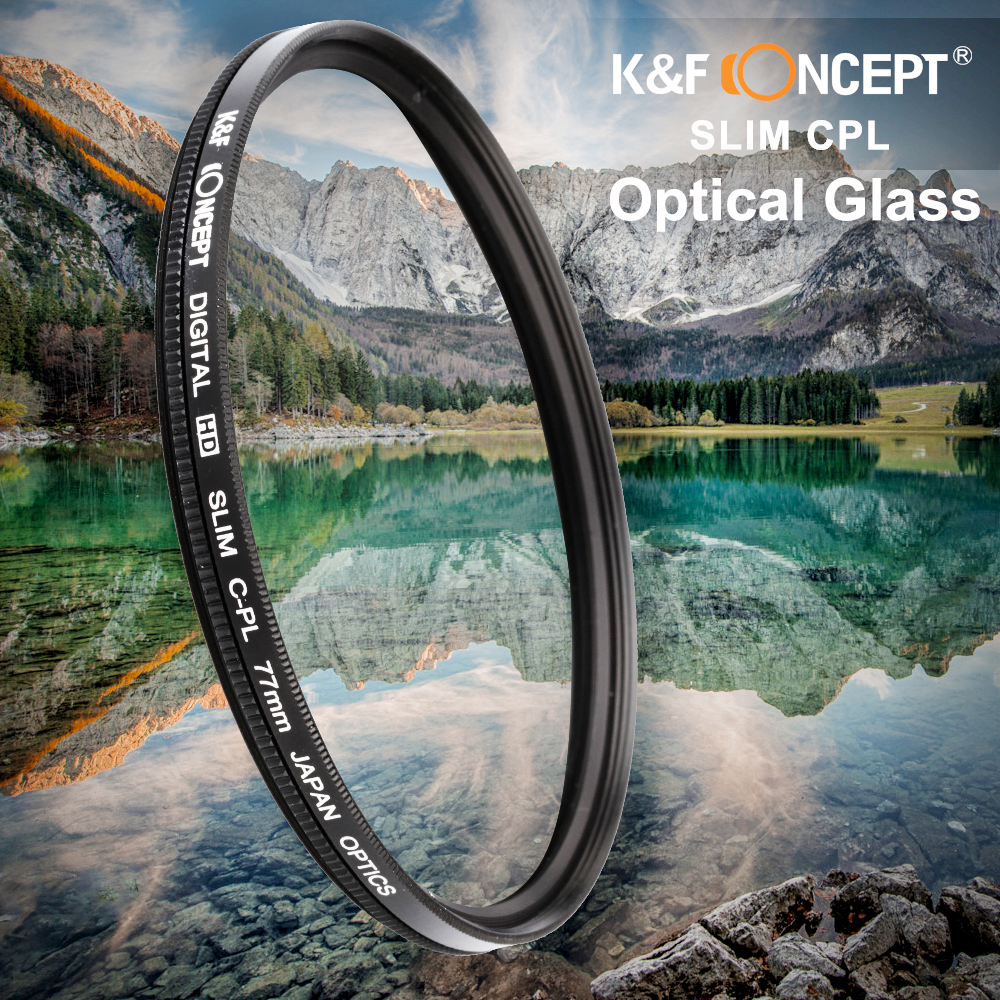 C-PL 62mm Circular Polarizer For Canon EOS Rebel XTi Multicoated Multithreaded Glass Filter