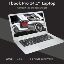 "T-bao TBOOK Pro Ultrathin Laptop Notebook PC 14.1"" 1920*1080 for Intel Z8350 4GB DDR3 64GB EMMC Notebook For Windows 10 X5-Z8350(China)"