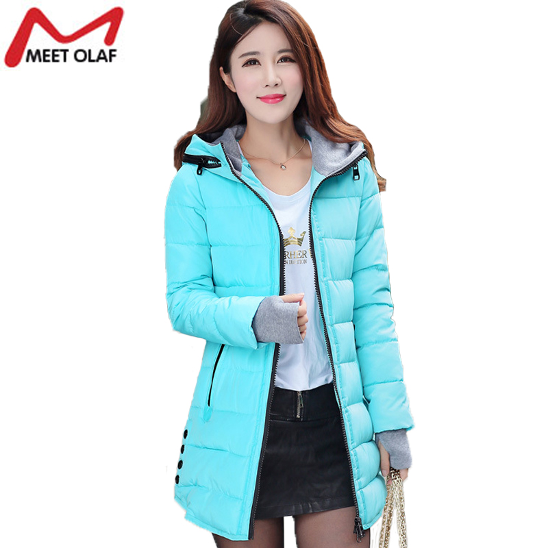 Winter Coat jacket Women Parka down 2017 Hooded Warm Cotton Padded Jacket Plus Size Outwear Wadded For Female YL007Одежда и ак�е��уары<br><br><br>Aliexpress
