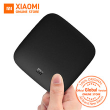 Глобальный Verison Xiaomi Mi Box 3 Android ТВ 6,0 Amlogic S905X 4 ядра Cortex-A53 2 ГБ 2,4 г/5 г Wi Fi 802.11a/b/g/n/ac Android(China)