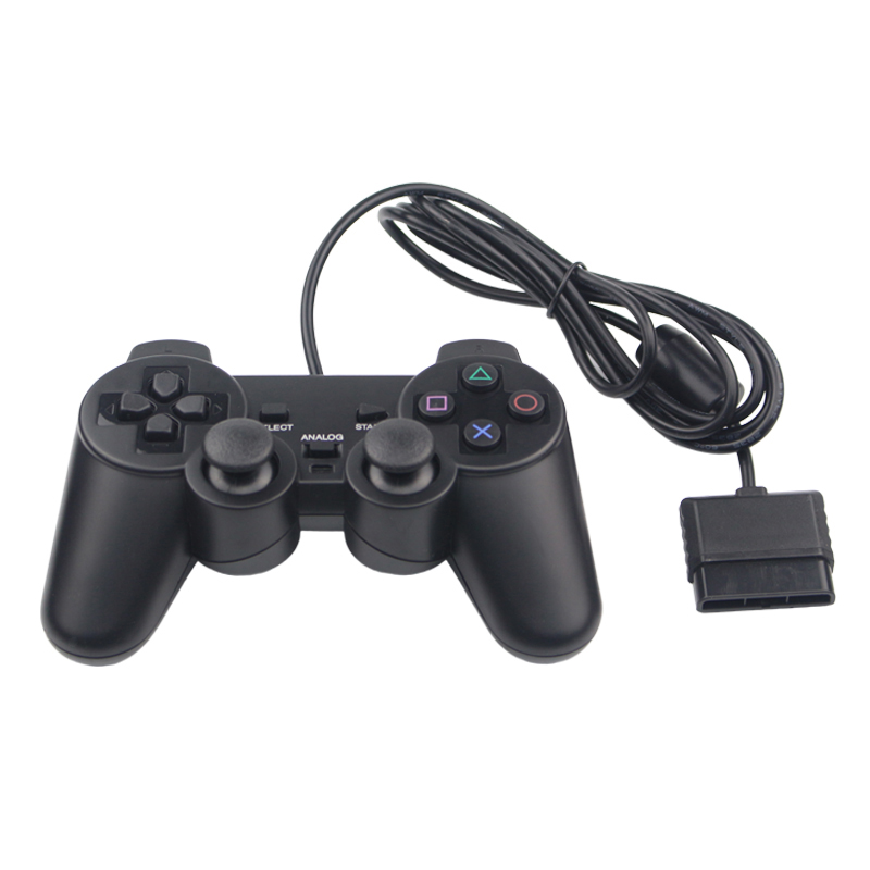 Wired Game Controller JoyPad for PS2 Game Joystick Gamepad For Sony Playstation 2 Console(China (Mainland))