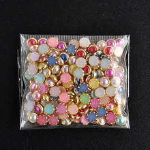 4mm 200pcs 3D DIY Nail Art Tip Mixed Colors Nail Rhinestones 2016 Beauty Nail Decoration Glitter  NA1049