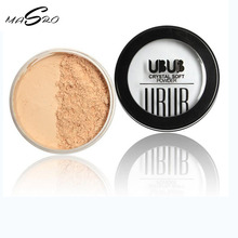 Masro Makeup Loose Powder Beauty Ultra-Light Perfecting Finishing Setting Powder Natural Glow Deep Beige Weaten Color Brand UBUB