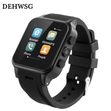 DEHWSG Android 5.1 Smart Watch Phone with Camera Sim card GPS Compass WIFI 3G Smartwatch Relojes inteligentes Google Play store
