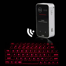 2017 Ultra-portable Red Light Virtual Laser Projection keyboard And Mouse for Ipad Iphone Tablet PC Wireless Bluetooth Keyboard