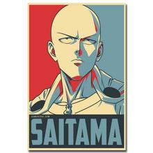 NICOLESHENTING ONE PUNCH MAN Art Silk Poster 13x20 inches Japanese Anime Pictures for Living Room Decor SAITIMA 015(China)