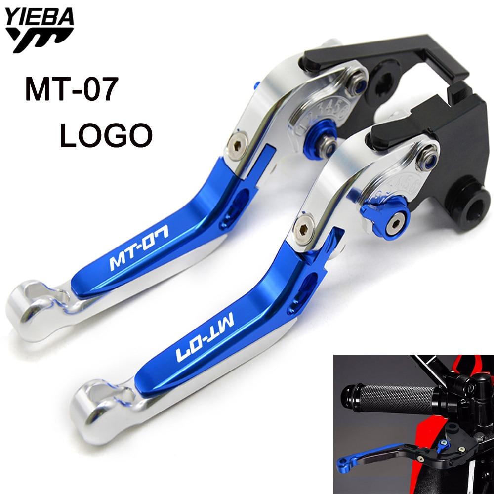 Motorcycle CNC Adjustable Foldable Motorbike Brakes Clutch Levers FOR YAMAHA MT07 MT-07 MT07 FZ-07 FZ07 FZ 07 2014 2015 2016