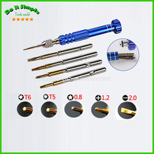 Buy 5 1 Pentalobe Precision Screwdriver Cr-V Opening Repair Disassemble Tools set Kit iPhone iPad HTC Cell Phone Tablet PC for $3.79 in AliExpress store