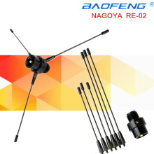 New Black for NAGOYA for RE-02 Mobile Antenna Ground UHF-F 10-1300MHz For Car Radio for KENWOOD MOTOROLA YAESU ICOM