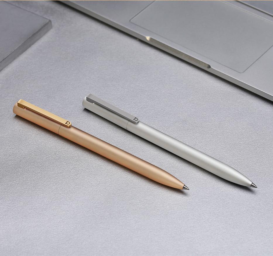 New-Original-Xiaomi-Mijia-Metal-Sign-Pen-9-5mm-Signing-Pen-PREMEC-Smooth-2 Switzerland-Black-Refill
