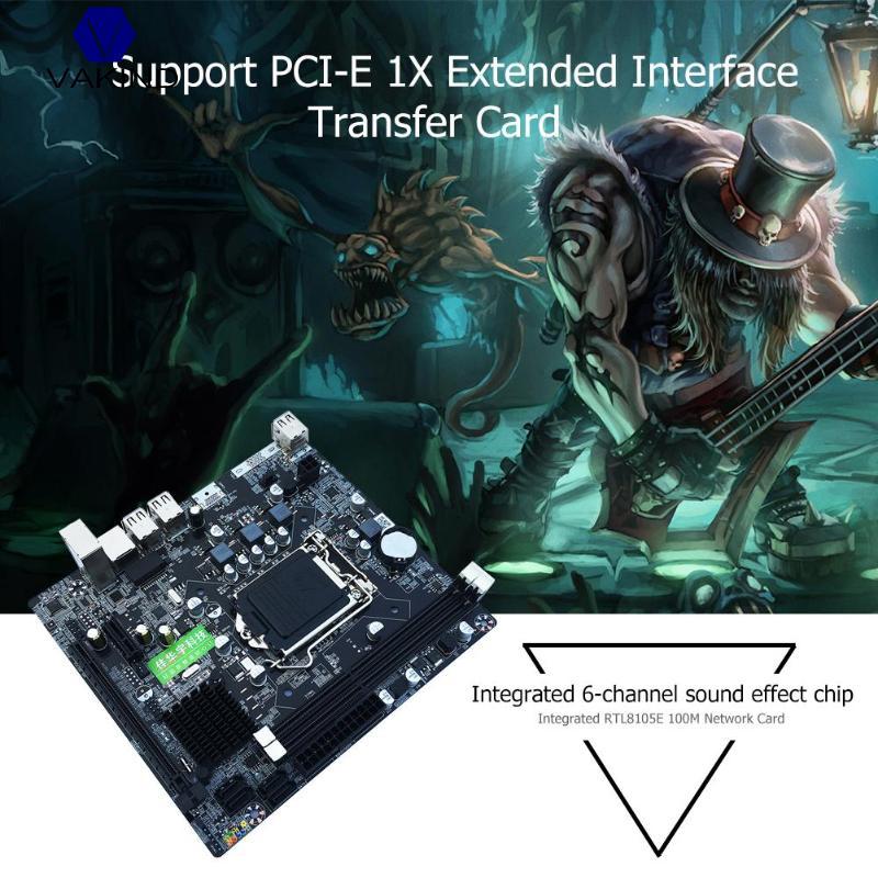 Интернет магазин товары для всей семьи HTB1tjf2ainrK1RjSsziq6xptpXaG VAKIND P67 PC LGA1155 материнская плата настольного компьютера DDR3 платы заменены H61 B75 материнская плата
