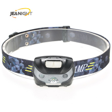3000Lumens LED Body Motion Sensor Headlamp induction Headlight Rechargeable Outdoor Camping Flashlight Head Torch Lamp With USB