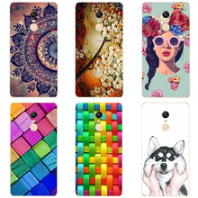 Buy Soft Silicon TPU Case Xiaomi Redmi Note 4X Flip Cover Flower Protector Back Cover Phone Case Redmi Note 4X Funda Coque for $2.36 in AliExpress store