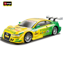 Burago Diecast 1:32 Audi A5 DMT Metal Model Car Toys Fans Decoration Vehicle Model Car For Kids Gifts Collection Free Shipping(China)