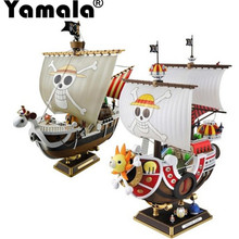 [Yamala] Huong Anime One Piece 25CM Thousand Sunny Pirate ship Model PVC Action Figure Collectible Brinquedos Model Toy(China)